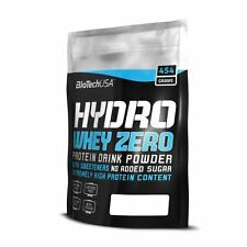 Biotech USA Hydro Whey Zero 454g Pure Hydrolysed chocolate-hazelnut FREE P&P