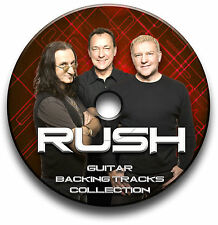 82 x RUSH STYLE MP3 PROG ROCK GUITAR BACKING JAM TRACKS CD ANTHOLOGY COLLECTION