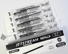 5 Uni-Ball Jetstream SXR-7 roller ball refills for SXN-157S & SXN-217 BLACK ink