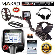 NEW MAKRO RACER 2 Metal Detector With New DEEP MODE & More *** STANDARD PACK ***