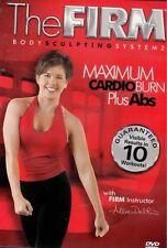 Step Aerobics and Toning Workout DVD - THE FIRM Maximum Cardio Burn Plus Abs!