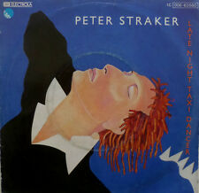 "7"" 1979 RARE! PETER STRAKER Late Night Taxi Dancer /M-"