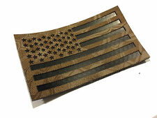 "Standard Infrared Kryptek Nomad IR US Flag Patch 3.5x2"" Special Forces"