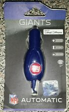 NEW YORK GIANTS Automatic NFL Car Charger made for Ipod Iphone NEW