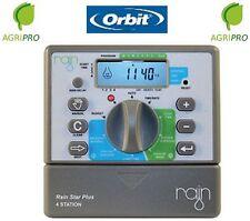 Programmatore centralina irrigazione ORBIT RAIN STAR PLUS 6 stazioni 24 V