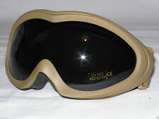Fox Outdoor Sahara Goggles Coyote Tan Desert Military Tactical Eye Shatterproof