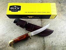 Buck Personal Fixed Blade Hunting Knives 118 Cocobolo Handle 118BRS-B