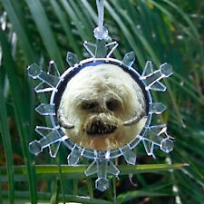 Star Wars Hoth Wampa Snowflake Blinking Light Holiday Christmas Tree Ornament