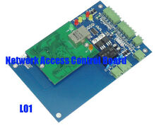 TCP/IP Network Access Control Board Panel Controller For 1 Door 2 Reader