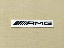 MERCEDES BENZ AMG LOGO BADGE CAR MOTORCYCLE BIKER RACING PATCH - MADE IN USA