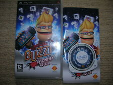 BUZZ ! : MASTER QUIZ – Rare Boxed Sony PSP Game