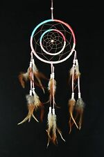 """Dream Catcher, Native American Indian Inspired, Wall/Car Hanging Decoration 18""""L"""
