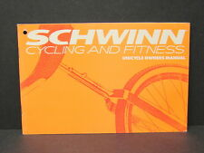 Vintage NOS 1989 Schwinn Bicycles Unicycle Owners Operating & Maintenance Manual