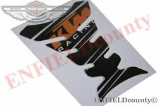 KTM DUKE 200 390 BLACK RACING BIKE FUEL TANK PAD STYLISH STICKER DECAL @ECspares