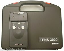 NEW TENS 3000 UNIT with ELECTRODES PADS,COMPLETE ---OTC---+ 8 Electrodes Total