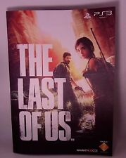 The Last of Us Promo Promotional Booklet Flyer Pamphlet Leaflet Japan Art New