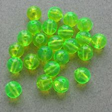 100 count pvc green fishing beads round fluorescent fishing lure, Reel Combo