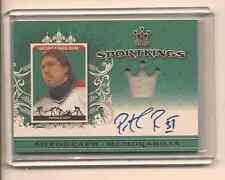 PATRICK ROY 2015 LEAF SPORTKINGS ON CARD JERSEY AUTO GREEN /5