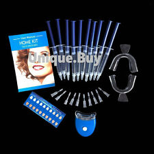44% Teeth Tooth Whitening Whitener LED White Light Oral Gel Dental Bleaching Kit