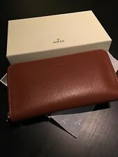 Very Rare Rolex Wallet / Purse Card Holder Tan Brand New With Rolex Box