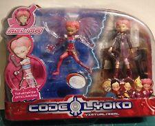 Code Lyoko Figura ANGELITA VIRTUAL ACCESORIO EXTRAIBLES Y ANGELITA REAL VER FOTO