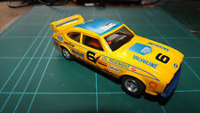SCALEXTRIC FORD CAPRI Analogue Car With New Rear Tyres - Rare !