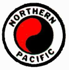 NORTHERN PACIFIC REEFER CAR ADHESIVE STICKER for American Flyer S Gauge Trains