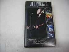 JOE COCKER - ACROSS FROM MIDNIGHT TOUR - VHS PAL