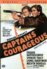 Rudyard Kipling - Captains Courageous DVD - Spencer Tracy Mickey Rooney (NEW)