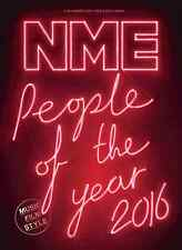 The NEW MUSICAL EXPRESS NME 9 DECEMBER 2016 PEOPLE OF THE YEAR Cover n.m.e.