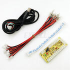 Zero Delay USB Controller to PC For Arcade MAME Parts 5Pin Rocker+ Buttons Cable