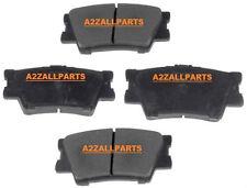 Pour toyota RAV4 2.0 2.2 td 2.4 06 07 08 09 10 11 12 13 14 15 arrière plaquettes de frein set