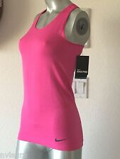 $60 NIKE PRO HYPERCOOL FITTED LIMITLESS TANK TOP WOMEN'S PINK DRI FIT SHIRT S