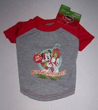 NWT Disney Mickey Mouse Pet  Dog Christmas Shirt - Small
