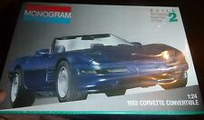 MONOGRAM 1992 CHEVY CORVETTE CONVERTIBLE 1/24 Model Car Mountain  FS