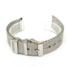 18mm 20mm 22mm Stainless Steel Mesh Buckle Watch Band