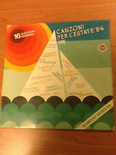 LP CANZONI PER L'ESTATE 84 TRE CAT. TSMRL 6316 SIGILLATO ITALY PS 1984 MCZ3