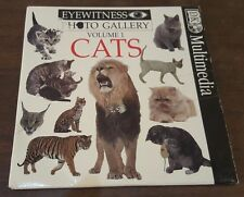EYEWITNESS Photo Gallery Volume 1 CATS Computer Software CDROM