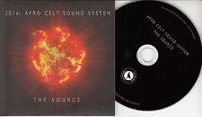 AFRO CELT SOUND SYSTEM The Source 2016 UK 13-trk promo test CD