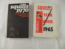 Squills International Pigeon Racing Year Books 1965 1970