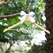 Wedding Hanger Personalized with Date and Name Prom Coat Hangers Bridesmaid