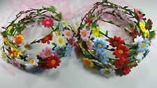 24pcs Headband Hairband flower Mixed color Hair Accessories .