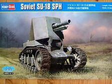 Hobbyboss 1:35 SU-18 SPH Soviet Self Propelled Howitzer Vehicle Model Kit