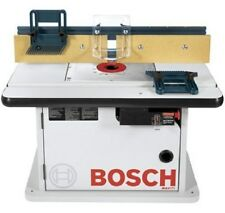 Bosch Benchtop Router Wood Table Cabinet Tools Saw Fence Gaurd Ajustable Gauge