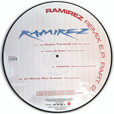 Picture Vinyl Ramirez Remix Part 2   Rare  Limited Edition