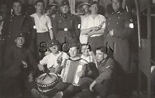 WWII German RAD RP- Reichsarbeitsdienst- Beer- Drum- Accordion- Dagger- Comic