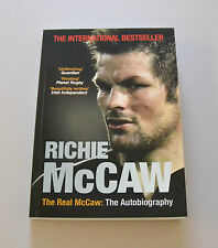 Richie McCaw Signed Book Autograph The Real McCaw Paperback Autobiography + COA