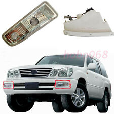 2X For Lexus LX470 1998-02 Car Front Bumper Fog/Driving Lights Housing No Bulbs