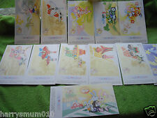 China 1999 year of Rabbit pre stamped postcards lottery cards mint 12 cards