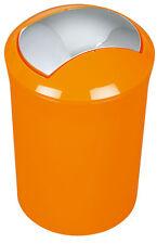 Spirella Sydney Arancione Bidone Dei Rifiuti Pattumiera Secchio 5 Litri